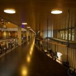 Zurich - Technopark: view from the first floor.