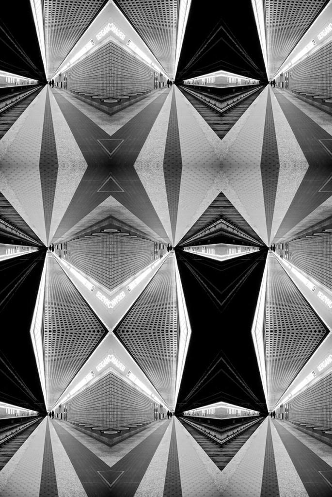 Holistic vision #1 - Durst print on Plexiglass + Dibond aluminium panel 134 x 200  cm – 52,5 x78.5 inch. - Edition of 7