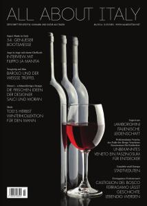 All About Italy Copertina del numero di Novembre 2014 della rivista All About Italy Deutschland. nov.2014